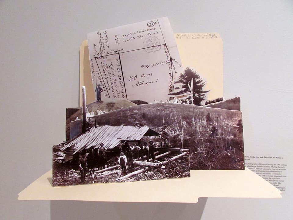 Paper Buck Tornado Exhibit